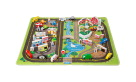 Melissa & Doug Deluxe Road Rug Play Set, 1 Rug with 49 Play Pieces