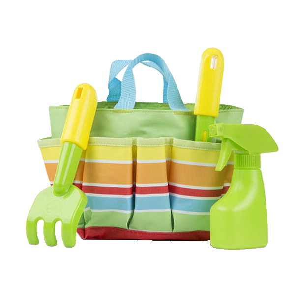 Melissa & Doug Giddy Buggy Gardening Tote Set, 4 Pieces