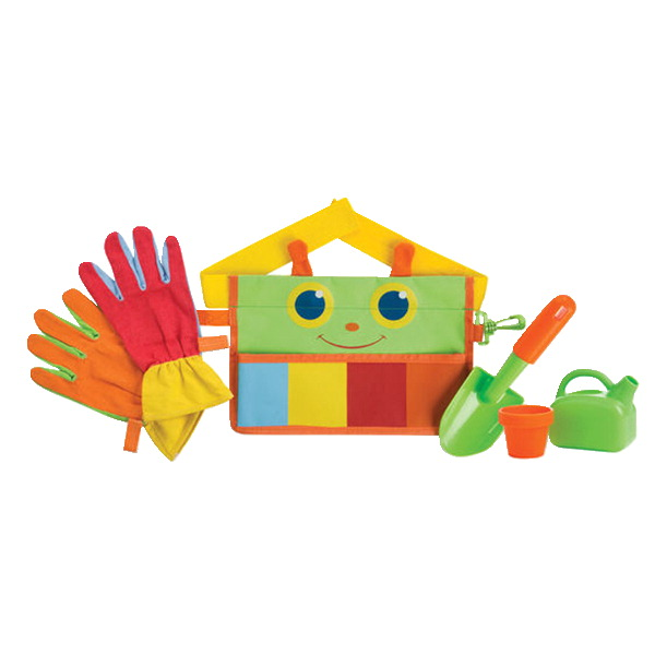 Melissa & Doug Happy Giddy Garden Tool Belt Set, 5 Pieces