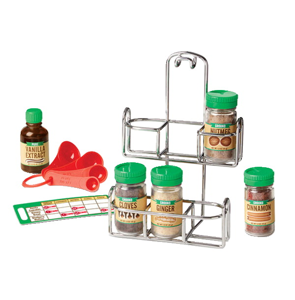 Melissa Doug Let S Play House Baking Spice Set 11 Pieces
