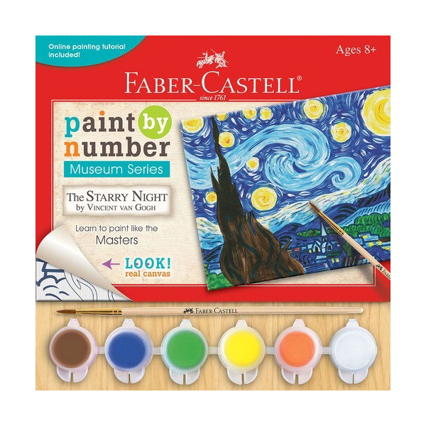 Faber-Castell Paint by Number Museum Series, The Starry Night
