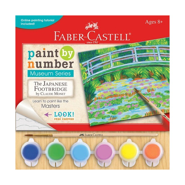 Faber-Castell Paint by Number Museum Series, The Japanese Foot Bridge