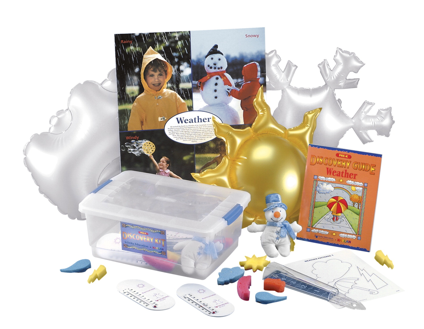 Delta Discovery Weather Kit, Pre-K