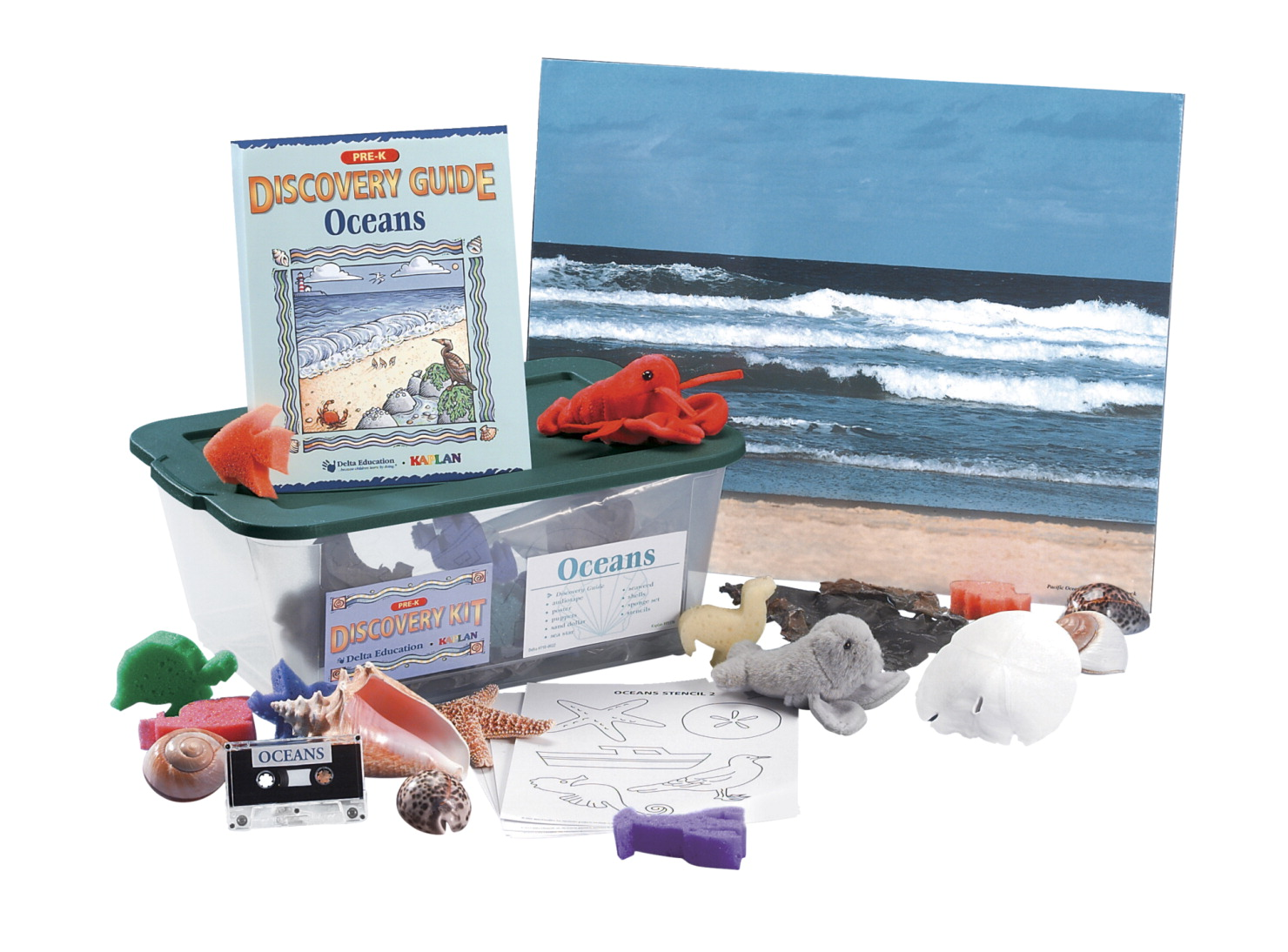 Delta Discovery Oceans Kit, Pre-K