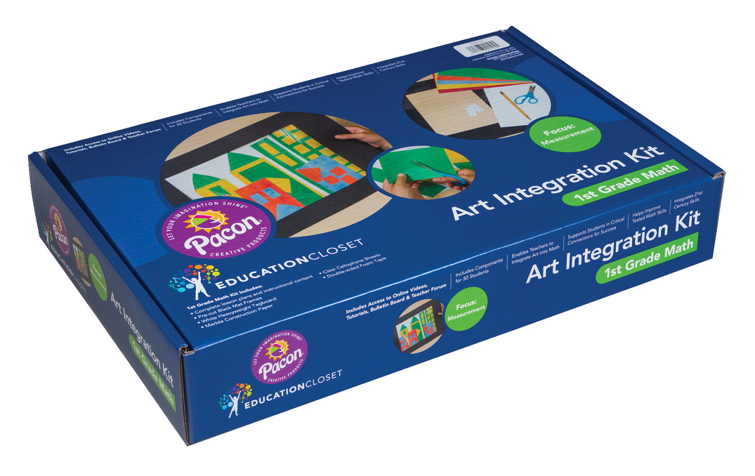 Pacon Art Integration Lesson Kit, First Grade Math