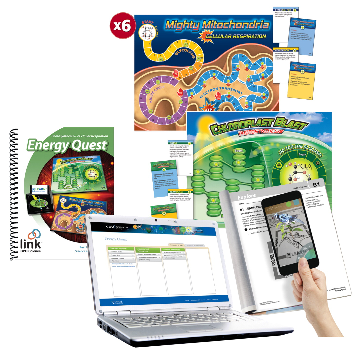 CPO Science Link Energy Quest Classroom Package - FREY SCIENTIFIC ...