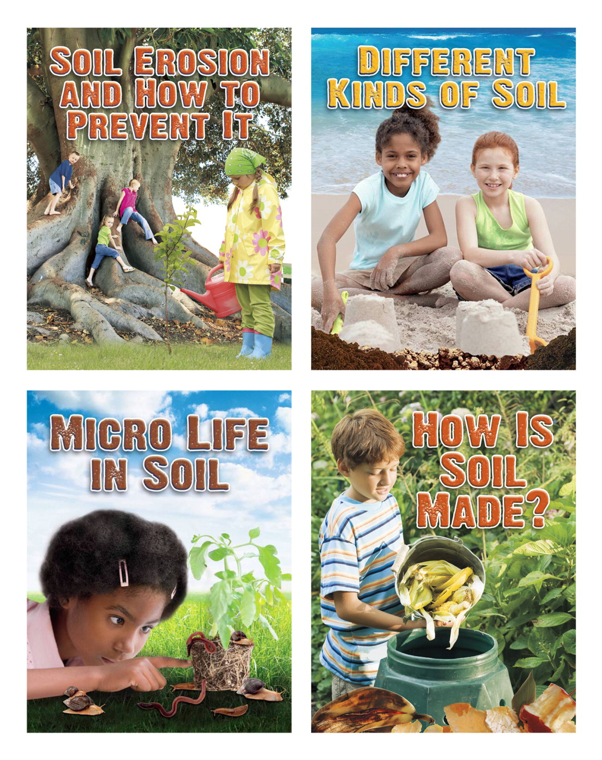 Everybody Digs Soil Book Series - Set of 4