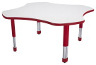Classroom Select NeoShape Markerboard NeoClass Leg Activity Table