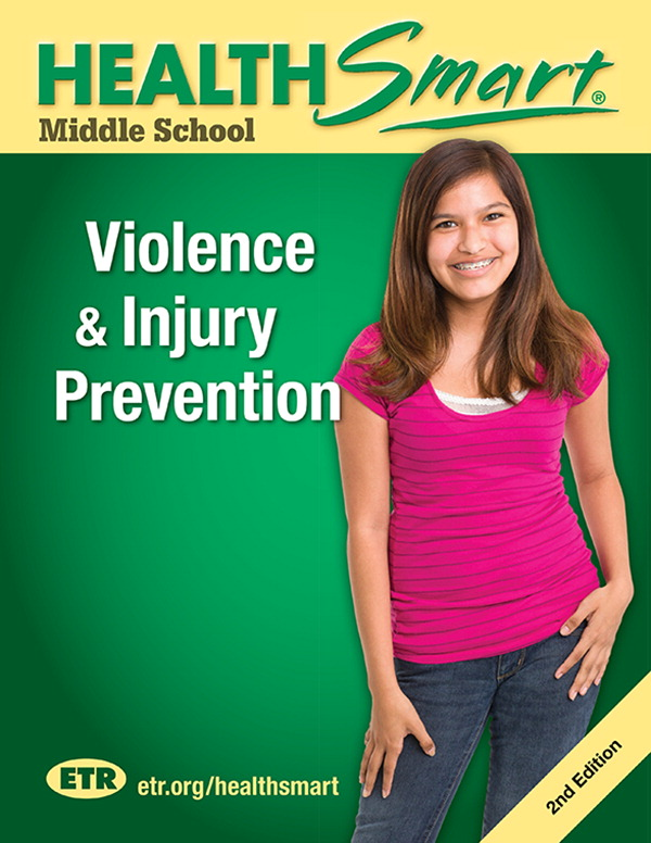 HealthSmart Violence & Injury Prevention, Print Version, Middle School, 30 Workbooks and 1 Guide
