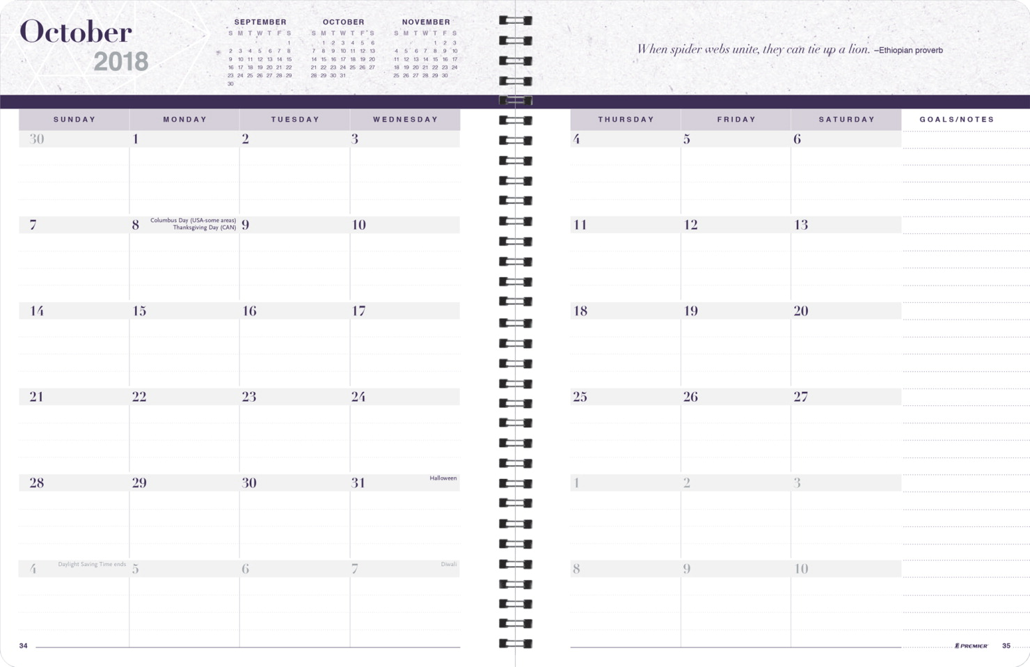 Premier Legacy Planner, Weekly Refill Pages Only, 168