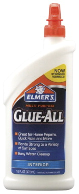 Elmer's Glue-All, 16 Ounces, White Dries Clear