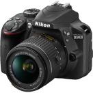 Nikon D3400 DSLR Camera, Black