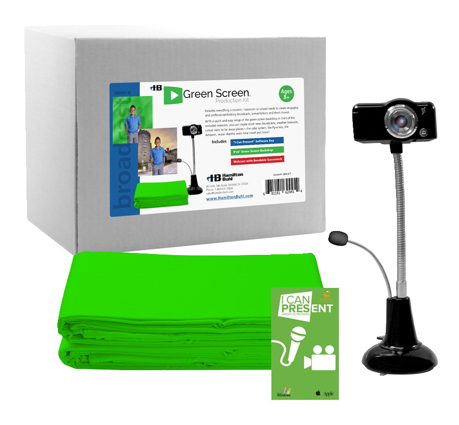 HamiltonBuhl STEAM Education Green Screen Production Kit