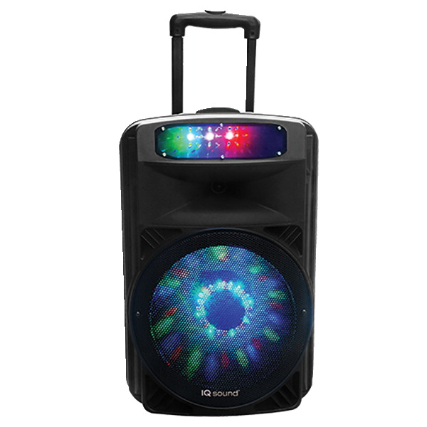 Supersonic Portable DJ Speaker, 12 Inches
