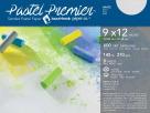 Pastel Premier Fine Grit Sanded Pastel Paper, 9 x 12 Inches, White, 8 Sheets