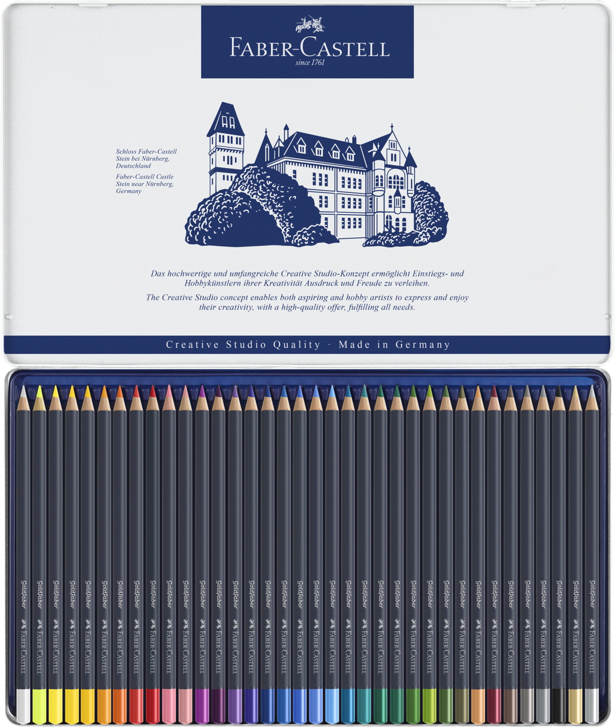 Faber-Castell Goldfaber Colored Pencils, Set of 36