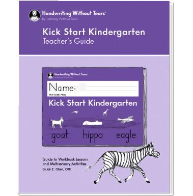 Handwriting Without Tears Kindergarten Double Line Teacher's Guide
