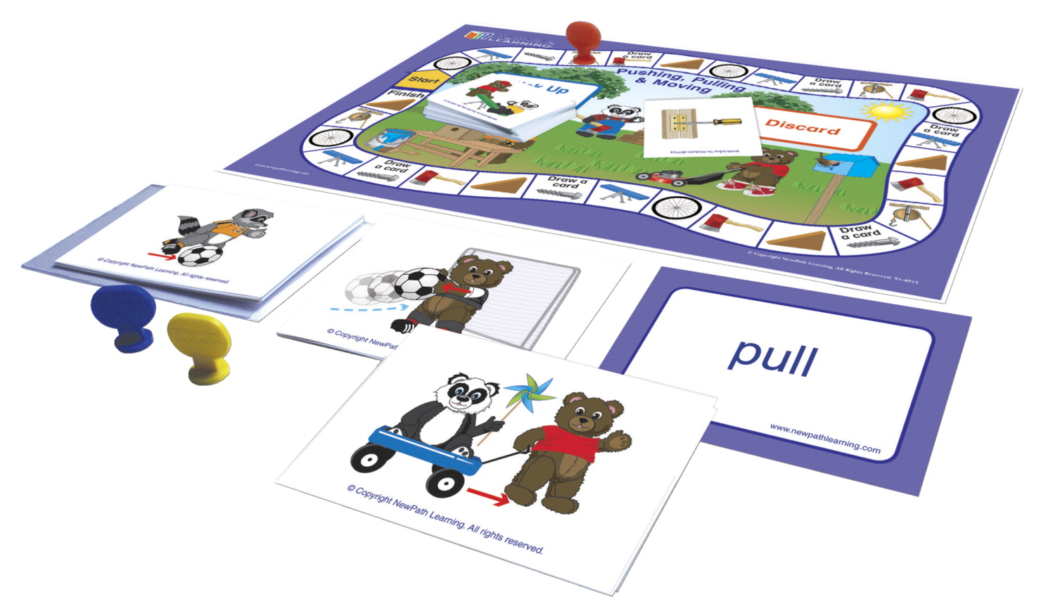 NewPath Learning Center Readiness Game, Pushing, Moving and Pulling