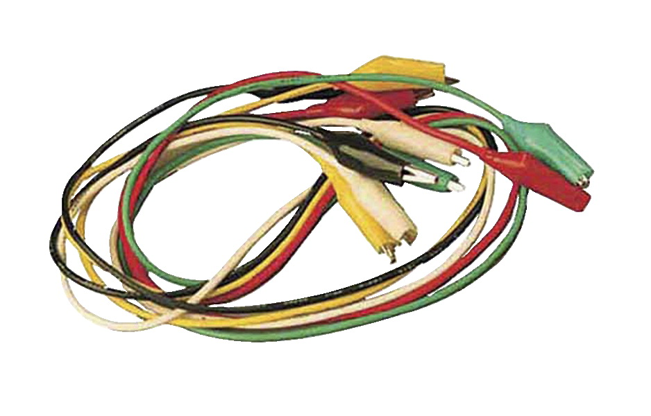 Frey Scientific Jumper Cords - 22 inches - Set of 5