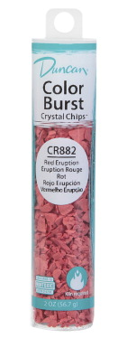 Duncan Color Burst Crystal Chips, Red Eruption, 2 Ounces