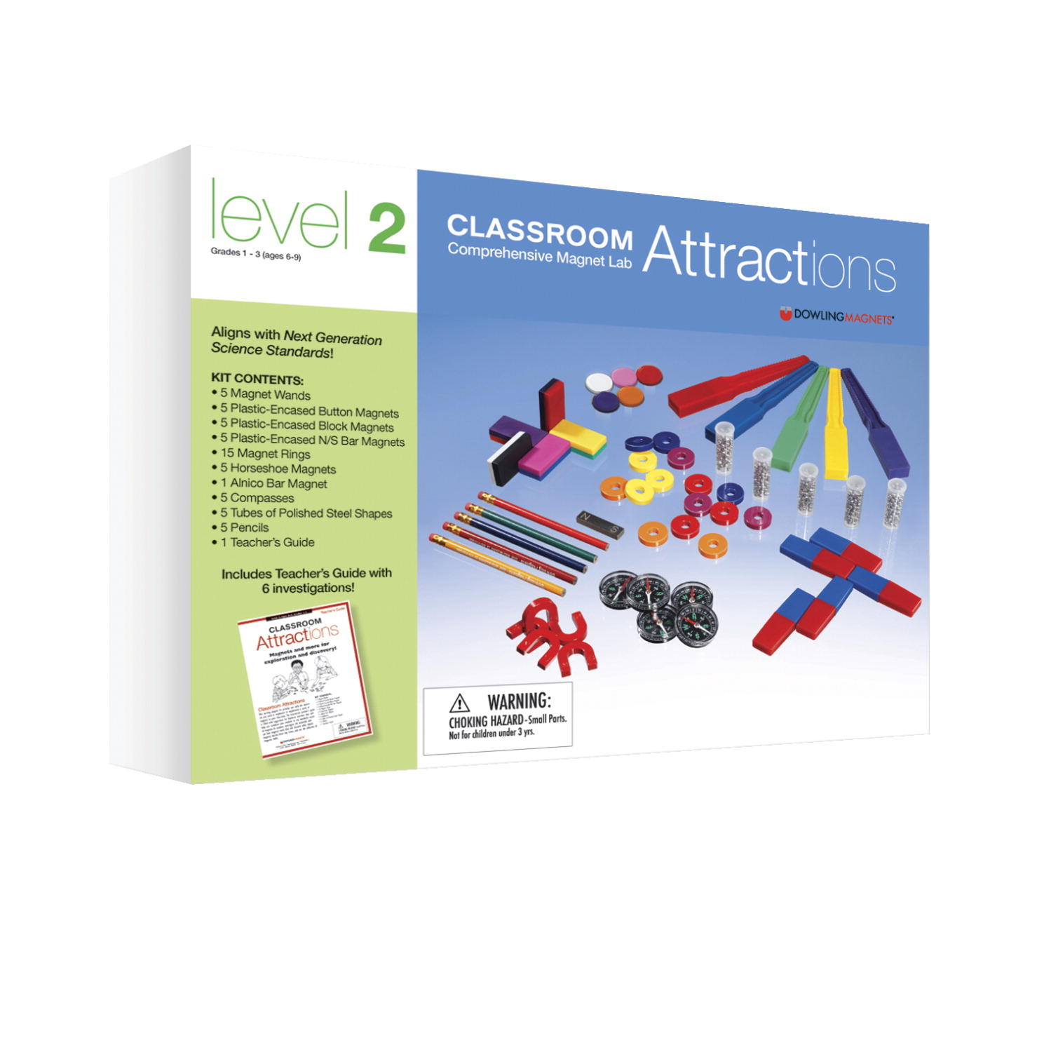 Dowling Magnets Permanent Magnet Activity Kits Level 2