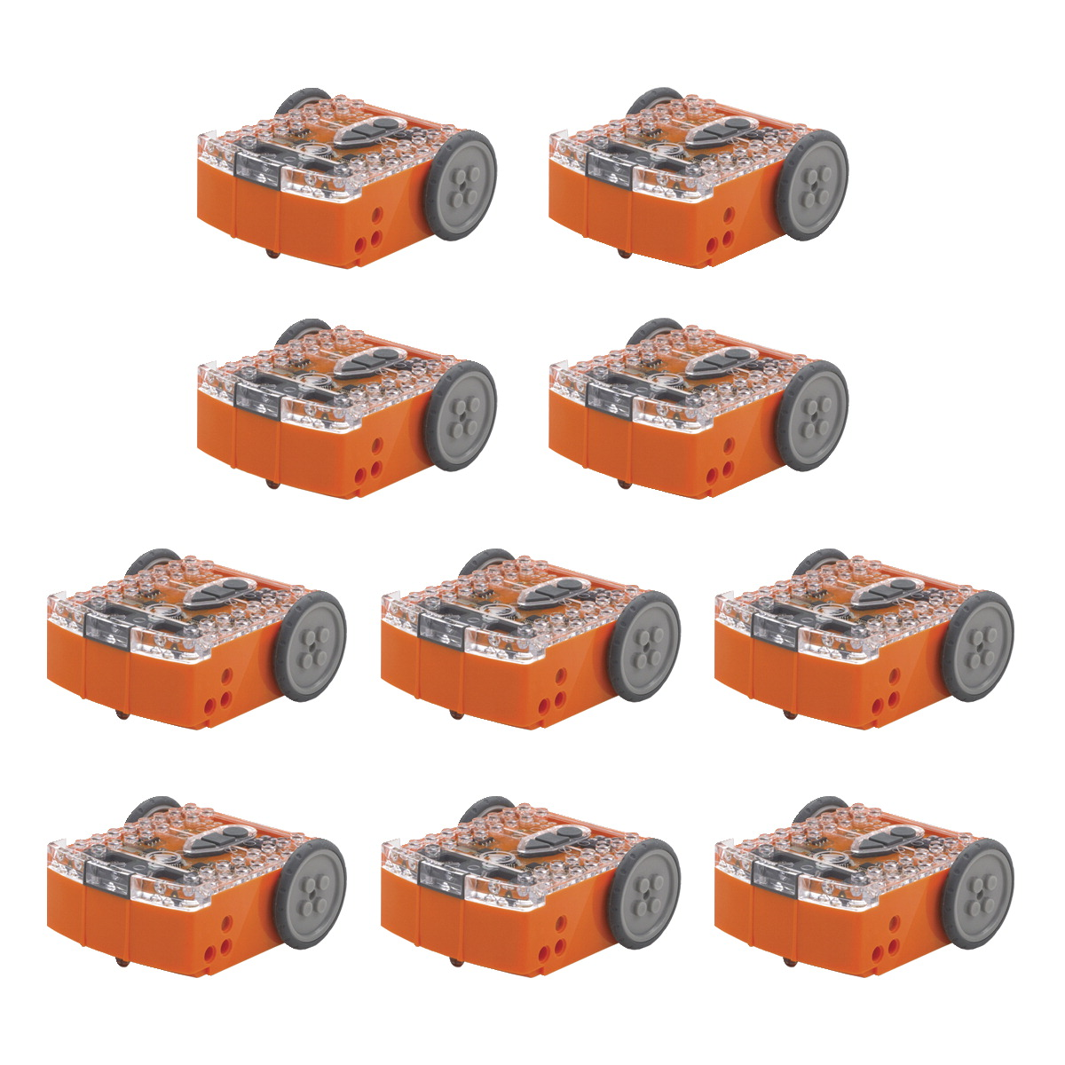 Hamilton Buhl Edison Educational Robot Kit, Pack of 10