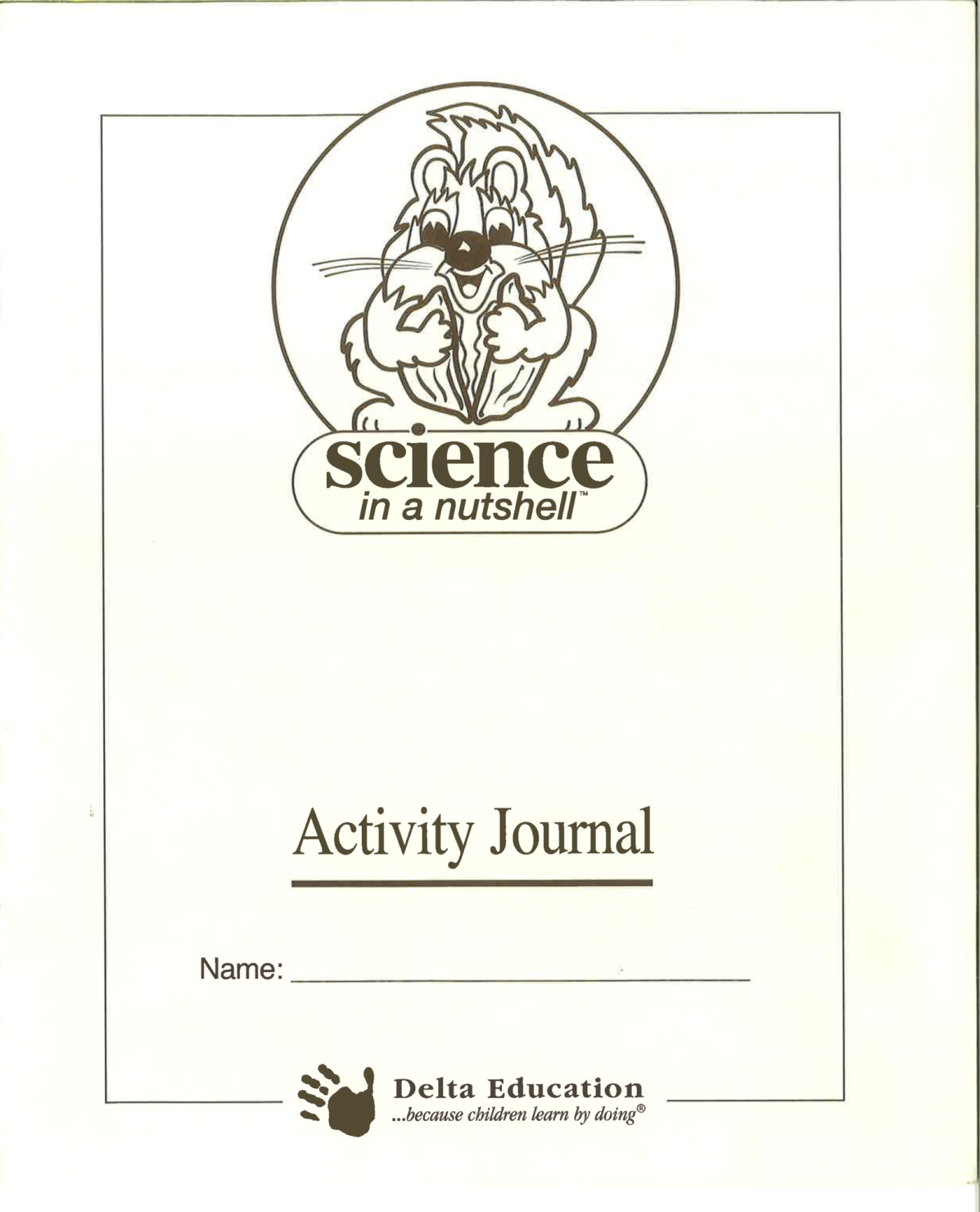Delta Science in a Nutshell Sound Vibrations Student Journal, Pack of 5