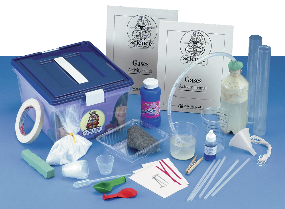 Delta Science in a Nutshell Gases Kit