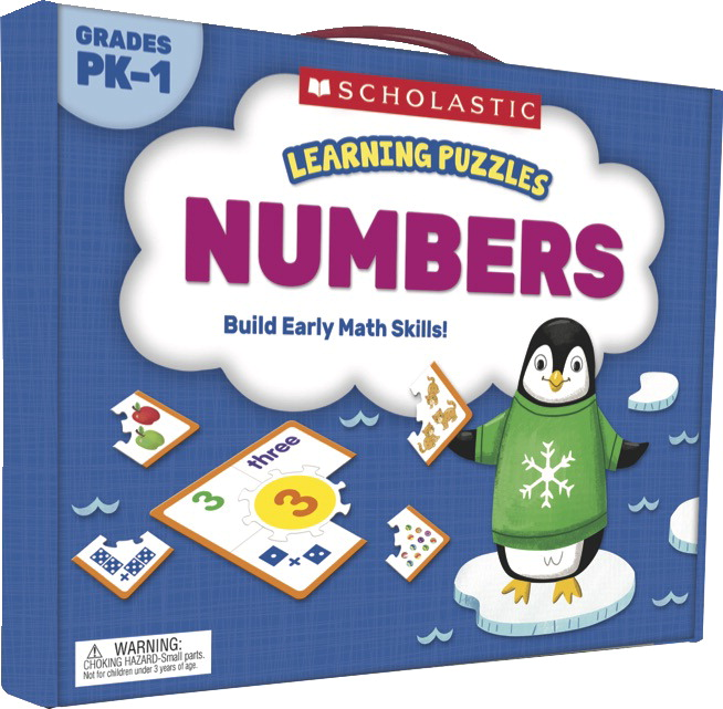 Scholastic Learning Puzzles: Number, Gr PreK-1