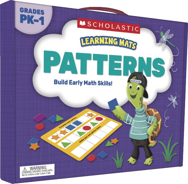 Scholastic Learning Mats: Patterns, Grades PreK-1