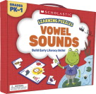 Scholastic Learning Puzzles: Vowels Sounds, Grades PreK-1