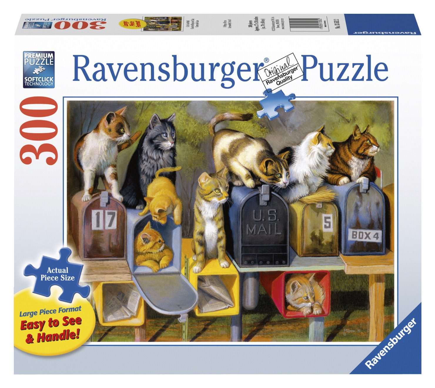 Ravensburger Cat's Got Mail Puzzle