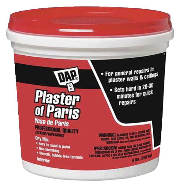 DAP Plaster of Paris, 8 Pounds, White