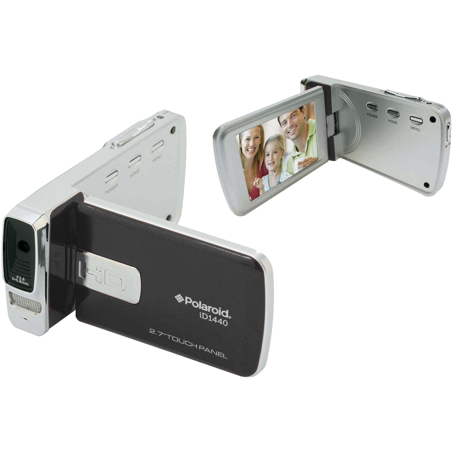 Polaroid 14MP 4x Zoom Digital Camera with 2.7 inch LCD Screen, Black