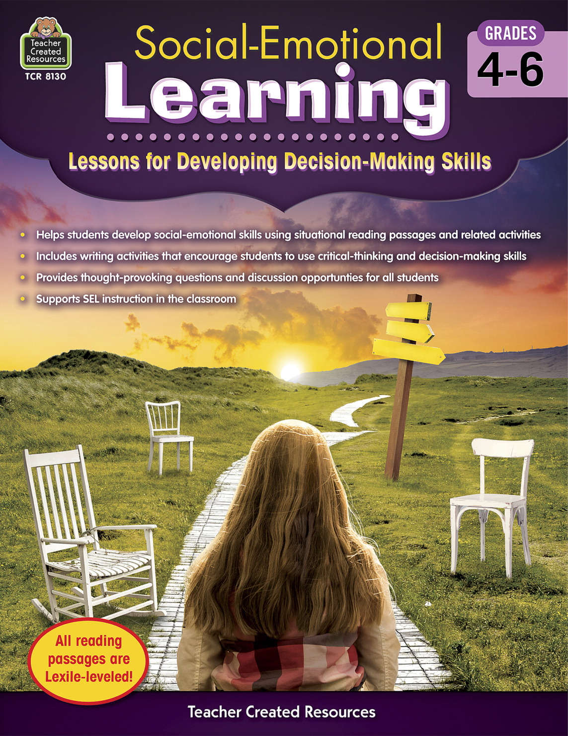 Teacher Created Resources Social-Emotional Learning, Lessons for Developing Decision-Making Skills, Grades 4 to 6