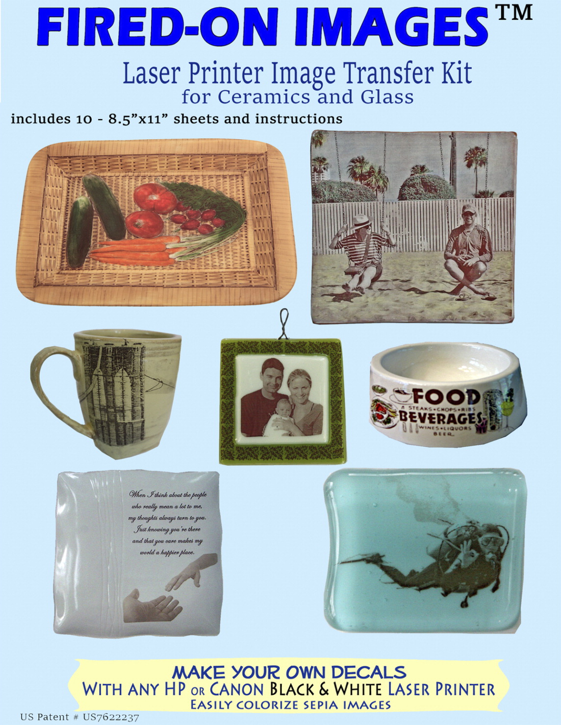 Heirloom Ceramics Multi Surface Image Transfer Paper Soar Life