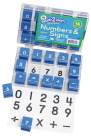 Ready2Learn Manuscript Numbers/Signs Stampers Set Combo