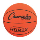 Champion Sports Oversized Training Basketball, 35 Inches, Orange