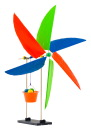 TeacherGeek Wind Lift Turbine, Pack of 10