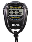Robic SC-429 Water Resistant All Purpose Stopwatch, Black