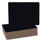 Flipside Chalkboard, 9-1/2 x 12 Inches, Black, Pack of 24