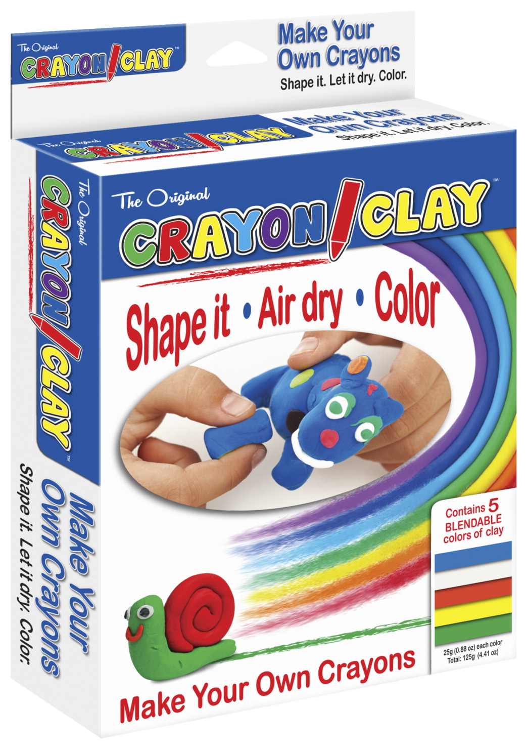 The Pencil Grip Inc Crayon Clay, 25 Grams