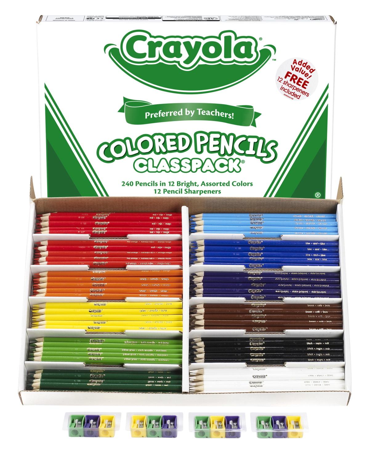 Crayola Colored Pencil Classpack, Assorted Colors - SCHOOL SPECIALTY ...