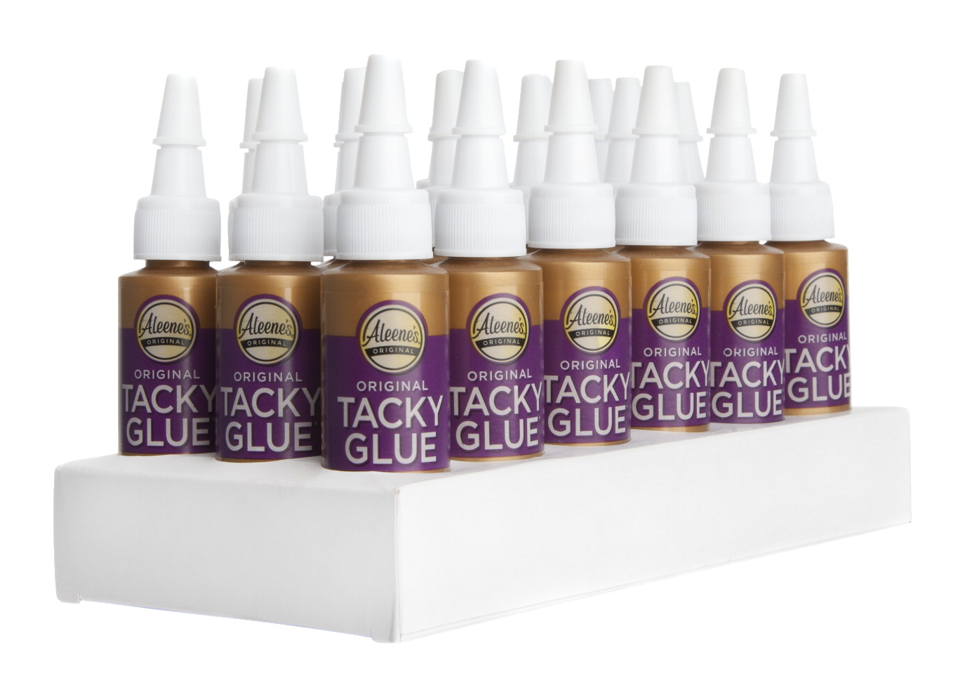 Aleene's Original Tacky Glue, 0.66 Ounces, Pack of 18