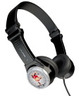 JLab Audio JBuddies Folding Headphones, Black