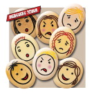 Yellow Door Jumbo Emotion Stones, Set of 8