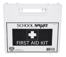 School Smart First Aid Kit, 25 Person, Plastic