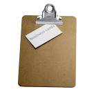Officemate Wood Clipboard, Memo Size, 6 x 9 Inches