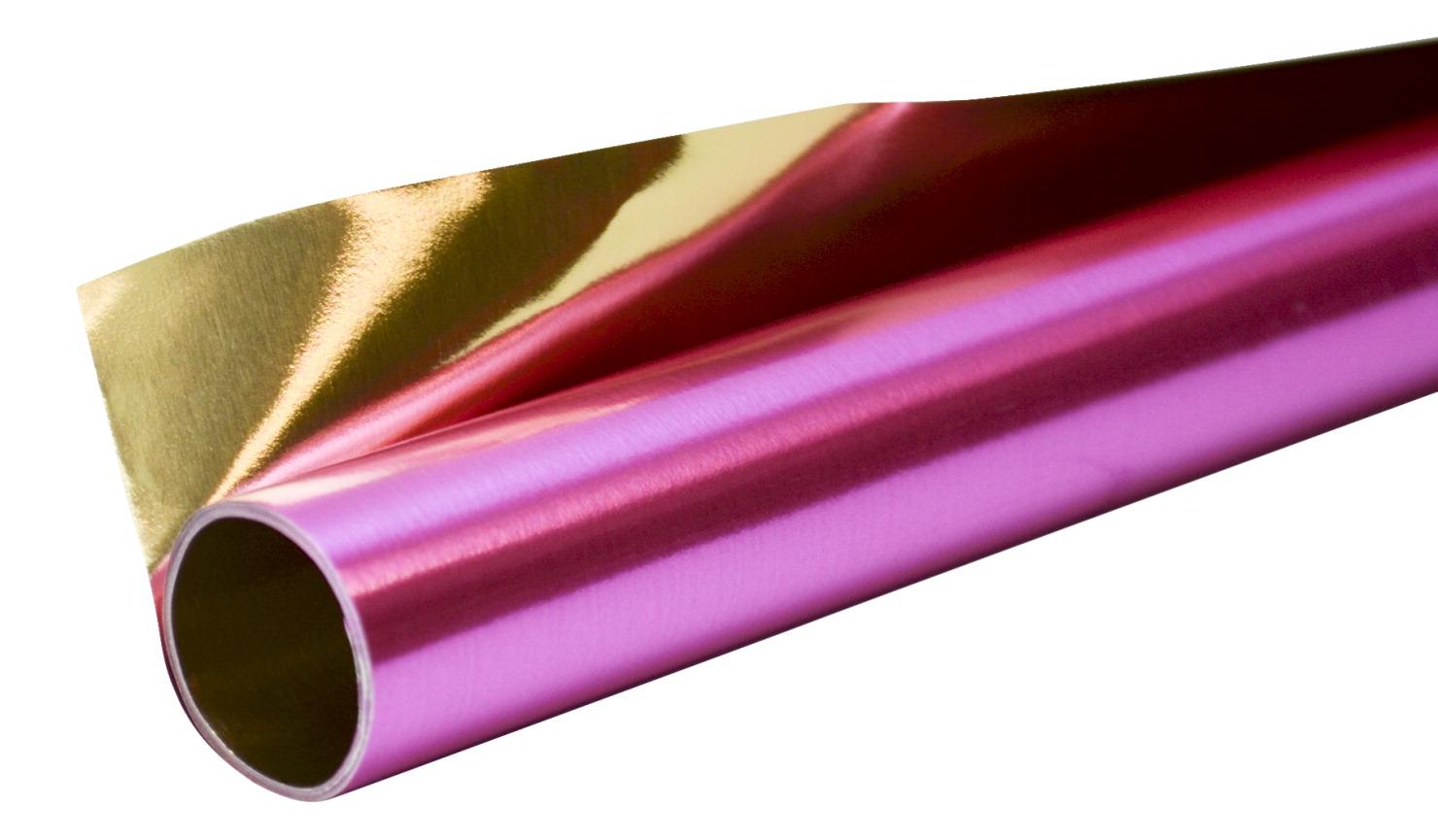 Folia Aluminum Foil Rolls, 19-1/2 x 31 Inches, Rose/Gold