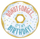 Creative Teaching Press Mid-Century Modern Donut Forget It's My Birthday Badge, Pack of 36